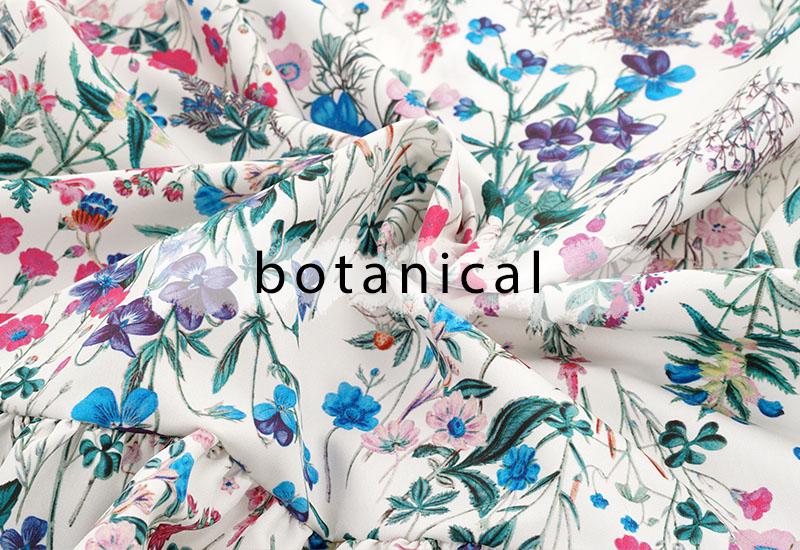 ボタニカル柄とは。花柄のこと | Joint Space