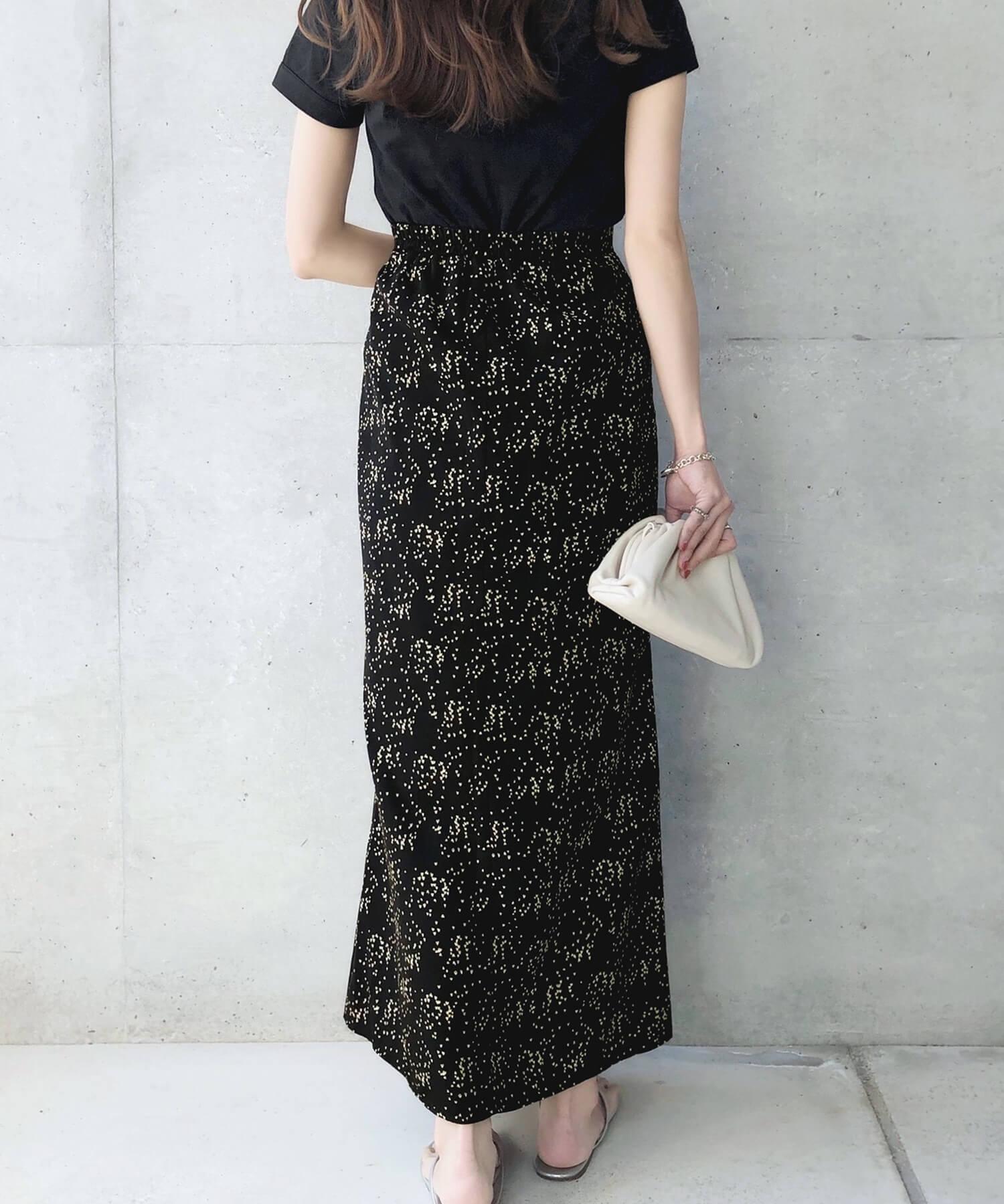 ロング マーメイドスカート 2タイプ パターン