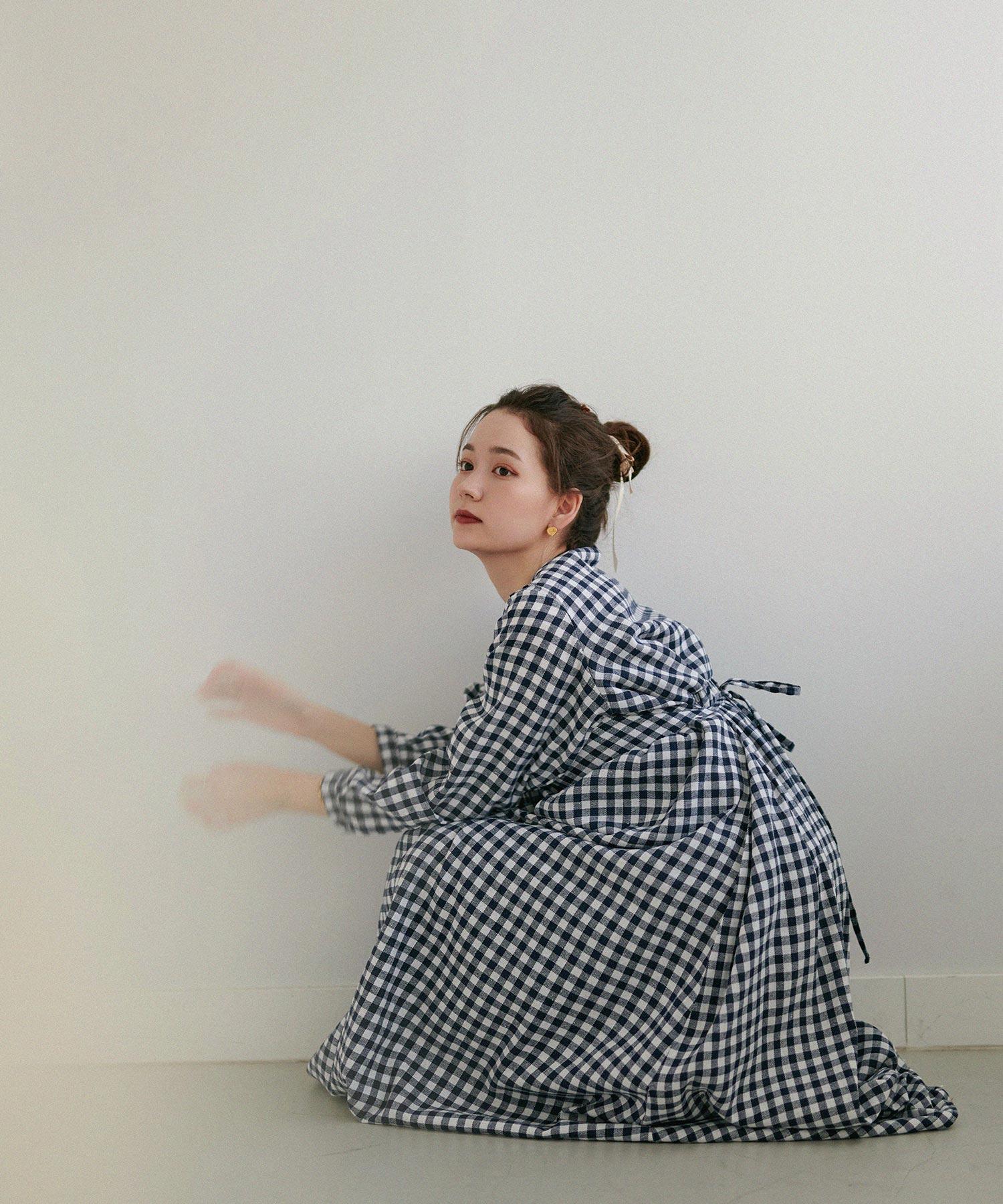 ワンピース ボリューム ギャザー Airi Kato Tina×mimi toujours