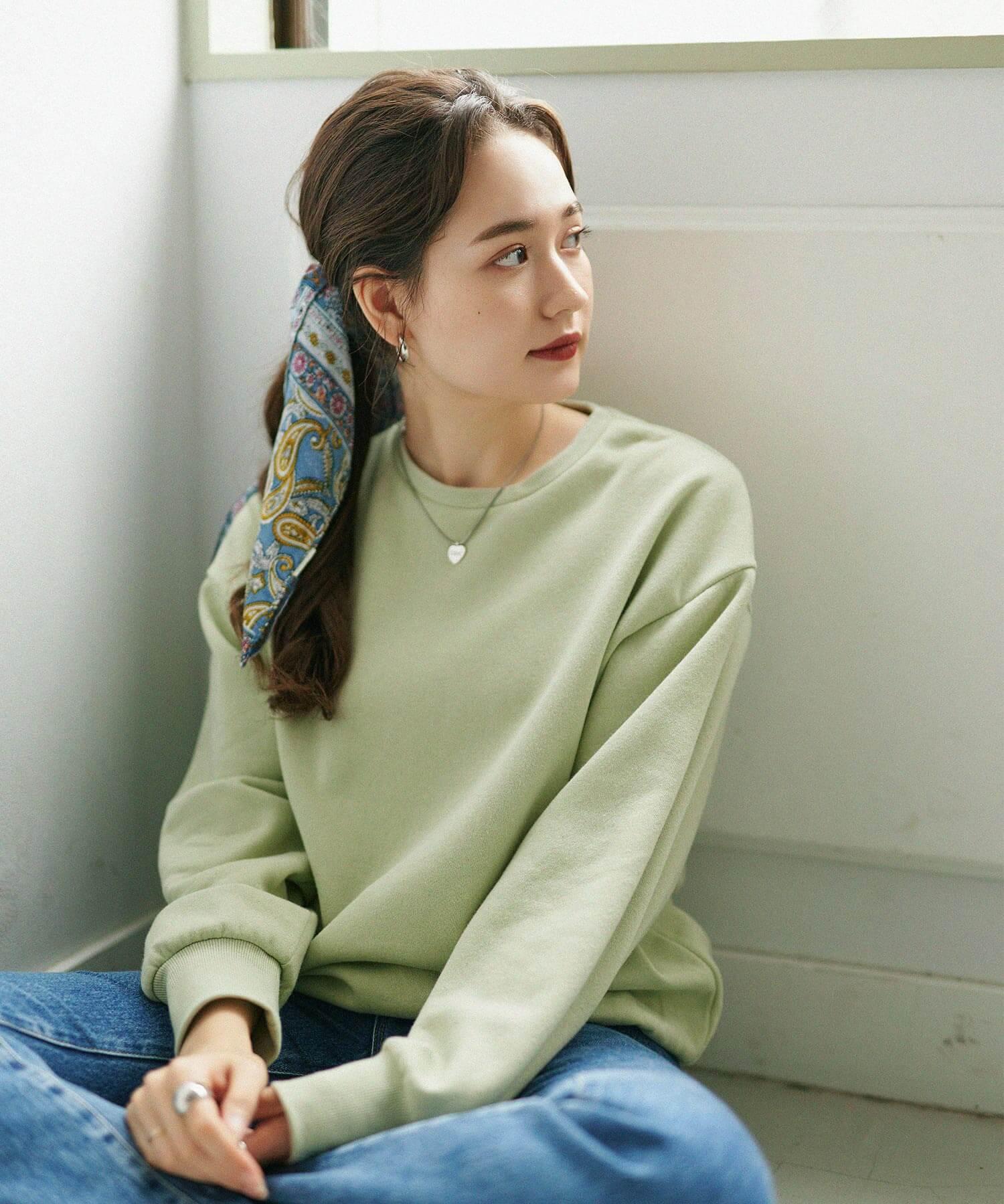 プルオーバー ユニセックス 袖刺繍 Airi Kato Tina×mimi toujours 全4色 mtj512-0343