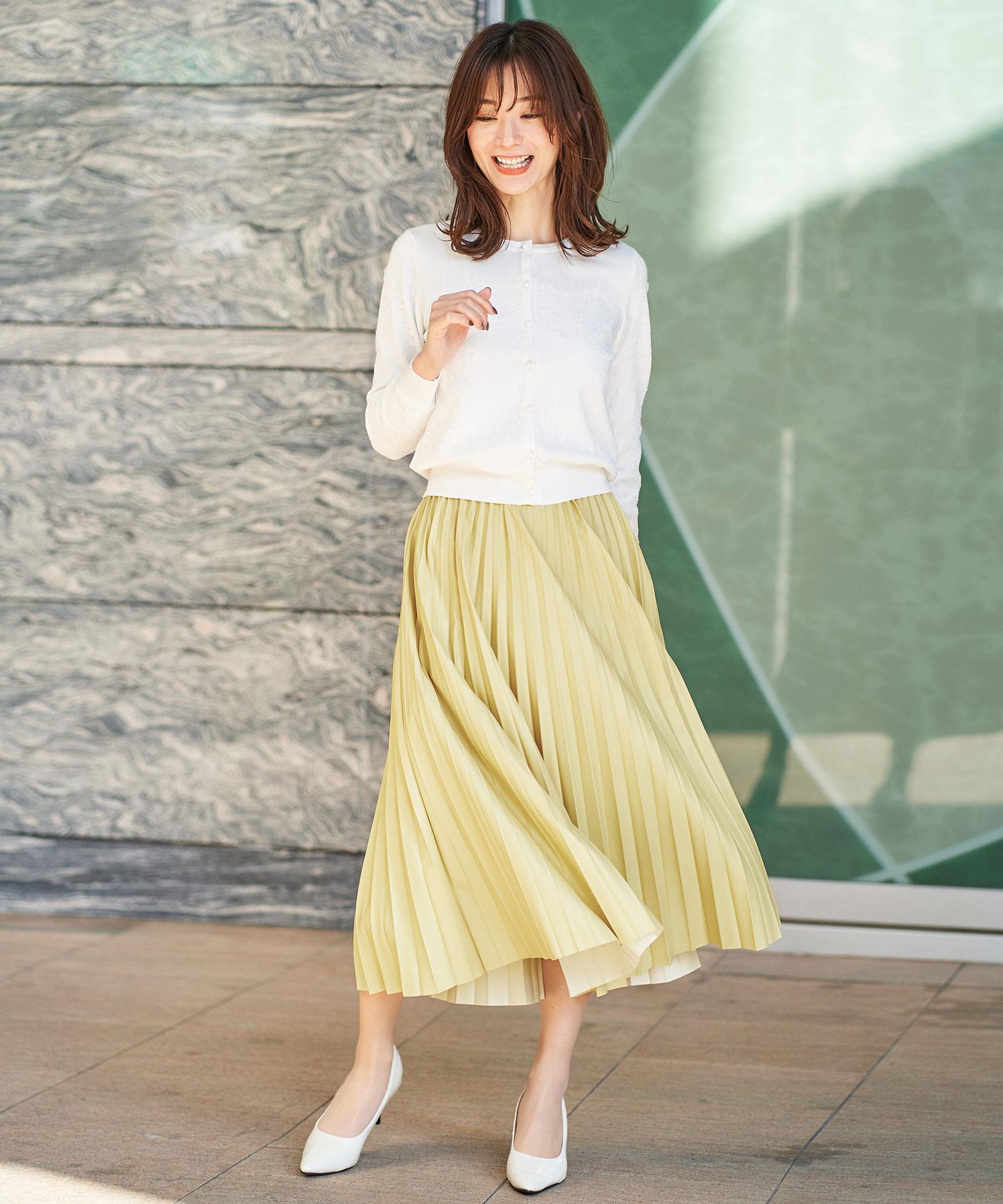 スカート プリーツ シンセティック FEERICHELU 全3色 fch621-0548【1】