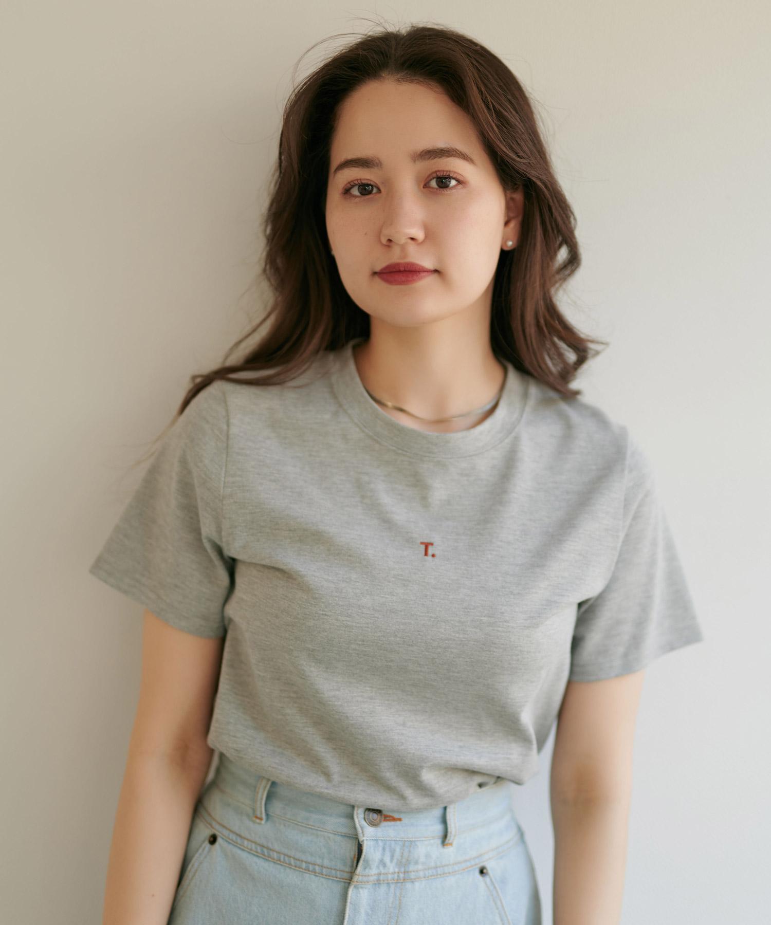 T.刺繍Tシャツ TINA:JOJUN